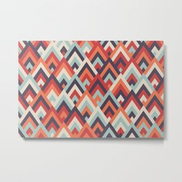 pantone mountains Metal Print