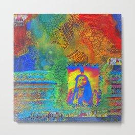 Colorful Hertiage Metal Print