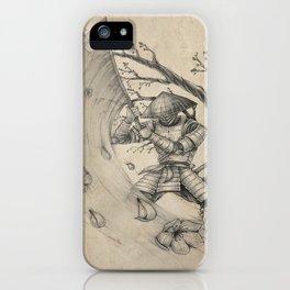 Samouraï iPhone Case