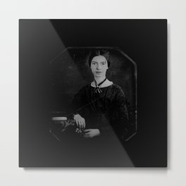 Portrait of Emiliy dickinson Metal Print