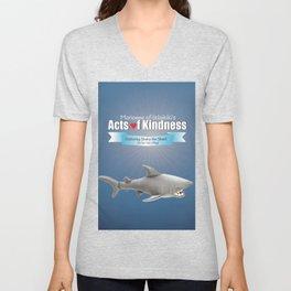 Shaka the Shark Unisex V-Neck