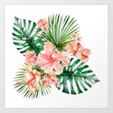 Tropical Jungle Hibiscus Flowers - Floral by originalaufnahme