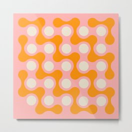 swell squiggles Metal Print