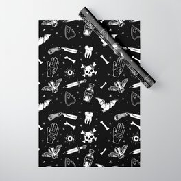 A Few Macabre Things Wrapping Paper