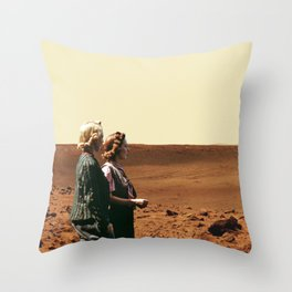 Women Are From Mars Throw Pillow