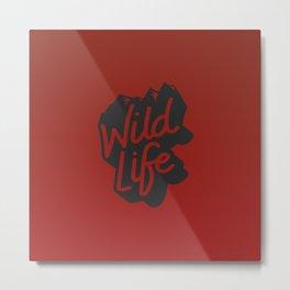 Enjoy the nature wild life Metal Print