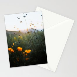 California Poppies in Lake Mathews Stationery Cards