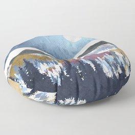 Blueberry Sky Floor Pillow