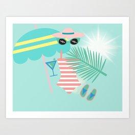 Palm Springs Ready Art Print