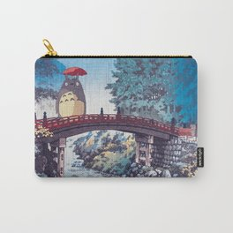 My neighbour Toto vintage japanese mashup Carry-All Pouch