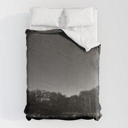 Eerie view in the Highlands Comforters