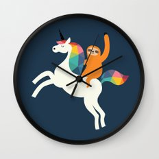 Magic Time Wall Clock