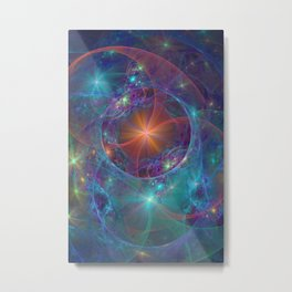 Galactic Stars Metal Print