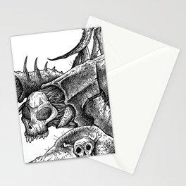 HELL'S ZODIAC - SCORPIO Stationery Cards