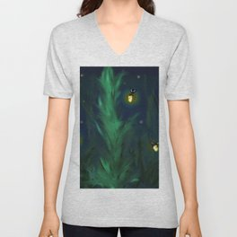A night at home Unisex V-Neck