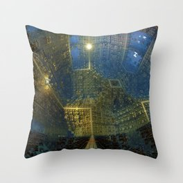 The City Wide and Broad Throw Pillow