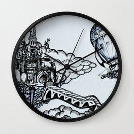Cloudheim Wall Clock