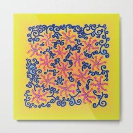 bungong jeumpa series: brightyellow Metal Print
