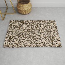 Leopard print - classic cheetah print, animal print Rug