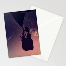 Wish upon a shooting star Stationery Cards