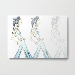 Fashion Forward Metal Print