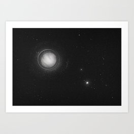 Planets Lost in the Vast of Space: 01 Art Print