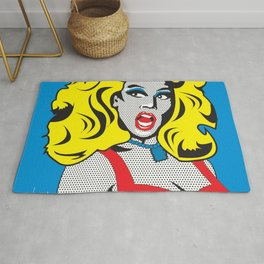 RuPaul   Pop Art Rug