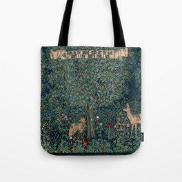 William Morris Greenery Tapestry Tote Bag