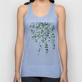Eucalyptus Watercolor Unisex Tank Top