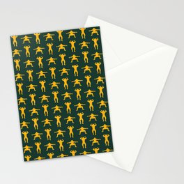 Clay Calisthenics Stationery Cards