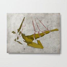 The hanging girl I Metal Print