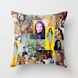 Nancy Kwan, Original Slaysian. Throw Pillow