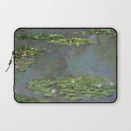 "Claude Monet ""Water Lilies"" (6) Laptop Sleeve"