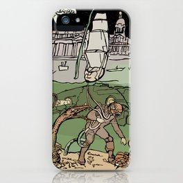 Subsaliens Go Down To Sea iPhone Case