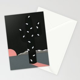 Black Sierra Nevada Stationery Cards