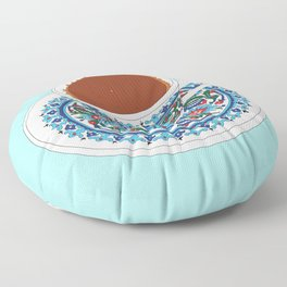 Turkish Coffee Floor Pillow