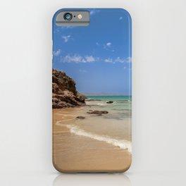 Fuerteventura Beach landscape iPhone Case