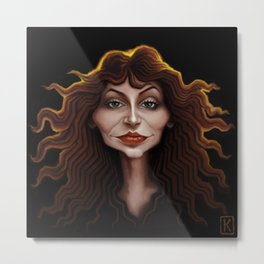 Kate Bush Metal Print