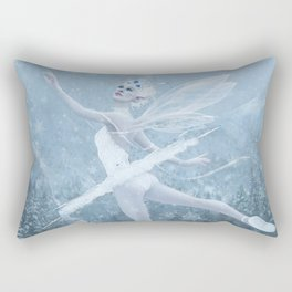 Snow Dancer Rectangular Pillow