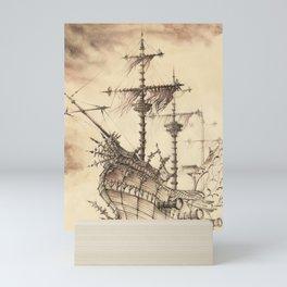 Haunted Ship Mini Art Print
