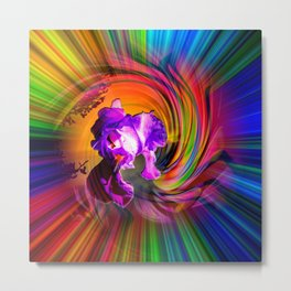 Abstract in perfection - Fertile Imagination Metal Print
