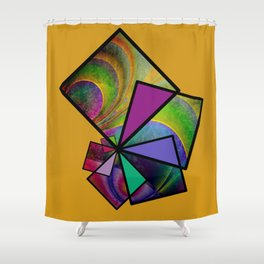 good feelings -41- Shower Curtain