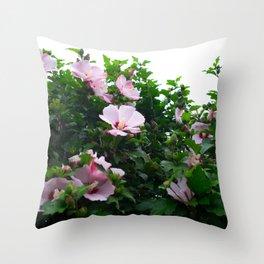 Blooming Light Throw Pillow