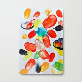 Colorful Sound of Spring Metal Print