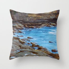 Northern Beaches Throw Pillow