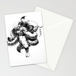Nine-tail fox spirit (Tamamo-no-mae) Stationery Cards