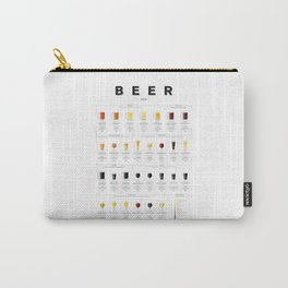 Beer chart - Ales Carry-All Pouch