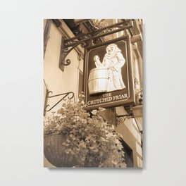 The Crutched Friar pub London Metal Print