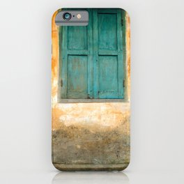 Antique Chinese Wall of Hoi An iPhone Case