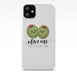 Olive Me Loves Olive You iPhone Case
